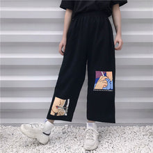 Load image into Gallery viewer, Anime Smoking Printed Loose Pants