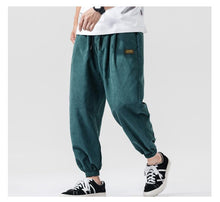 Load image into Gallery viewer, Cotton Ankle Length Loose Jogger Pants