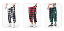 Load image into Gallery viewer, Casual Comfortable Plaid Cotton Pants