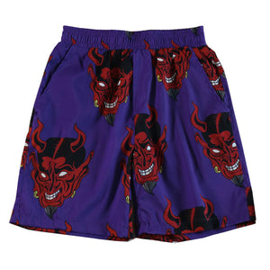 Devil Full Printed Shorts Pants