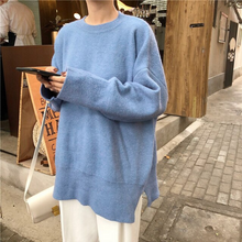 Load image into Gallery viewer, Oversize Style Long Sleeve Knitted Sweater