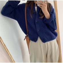 Load image into Gallery viewer, Casual Buttons Cardigan Sweater