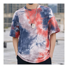 Load image into Gallery viewer, Tie Dye Colorful Hip Hop Oversized Shirt