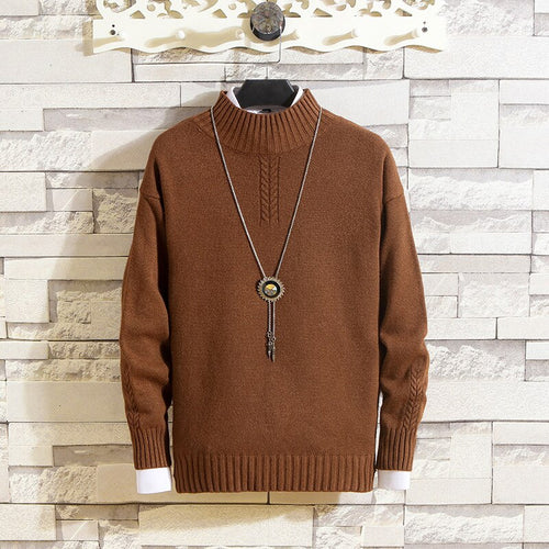 Classic Casual New Round Neck Sweater