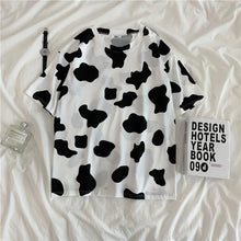 Load image into Gallery viewer, Cow Milk Pattern Casual Shirt