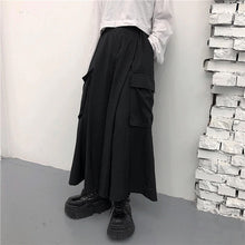 Load image into Gallery viewer, Large Pockets Wide Leg Loose Pants