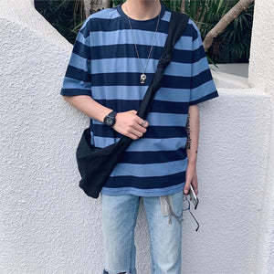 Vintage Casual Striped Shirt
