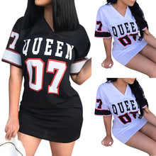 Load image into Gallery viewer, Short Dress Hip Hop Queen