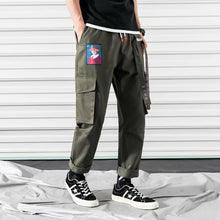 Load image into Gallery viewer, Character Embroidered Cargo Pants