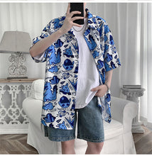 Load image into Gallery viewer, Vintage Cartoon Printed Loose Shirt