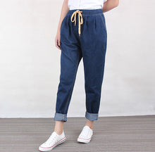 Load image into Gallery viewer, Women's Jeans High Elastic Waist Pants
