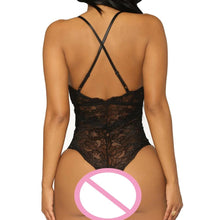 Load image into Gallery viewer, Sexy One Piece Lingerie Lace Bodysuit