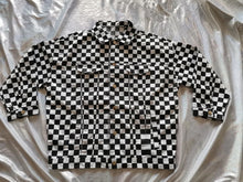 Load image into Gallery viewer, Plaid Checkered Turn Down Collar Jacket