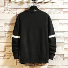 Load image into Gallery viewer, Knitted O-Neck Long Sleeve Sweater