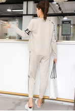 Load image into Gallery viewer, Sweater Sports Suit Women's Cardigan Thin Casual