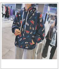 Load image into Gallery viewer, Cute Dinosaur Cartoon Hoodie