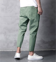 Load image into Gallery viewer, Men's Ankle Harem Pants