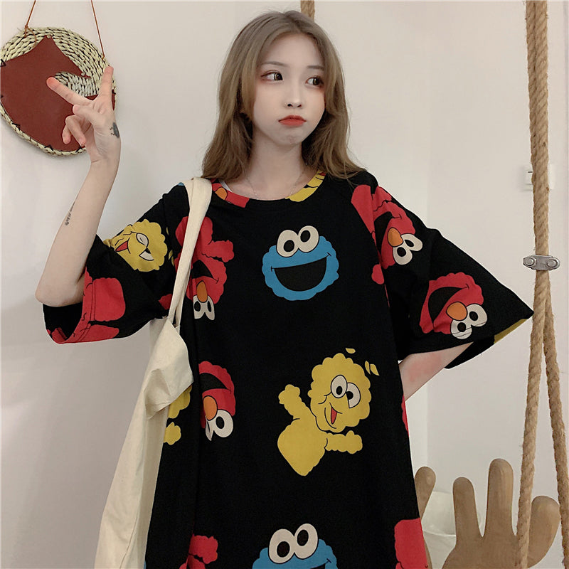 Cartoon Sesame Street Shirt