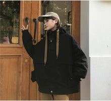 Load image into Gallery viewer, Oversize Hooded Coat Jacket
