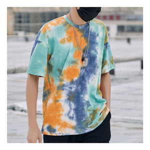 Tie Dye Colorful Hip Hop Oversized Shirt