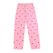 Load image into Gallery viewer, Heart Printed Pink Pants