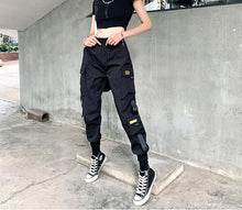 Load image into Gallery viewer, Streetwear Pants Women Korean Style Elastic Waist