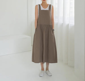 Sleeveless Women's Casual Dresses