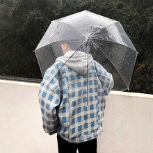 Load image into Gallery viewer, Plaid Hooded Coat Jacket