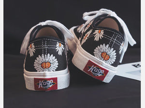 Daisy Flowers Canvas Shoes