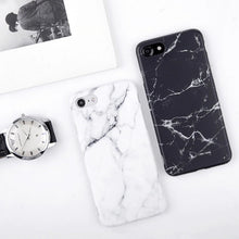 Load image into Gallery viewer, Marble Stone Gel Case for iPhone