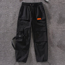 Load image into Gallery viewer, Embroidery Loose Cargo Pants Women Harajuku