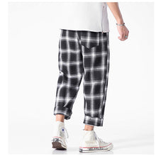 Load image into Gallery viewer, Joggers Plaid Pants