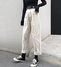 Load image into Gallery viewer, High Waist Casual Wide Leg Loose Pants