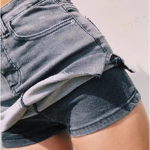 Load image into Gallery viewer, High Waist Side Split Bodycon Denim Skirts