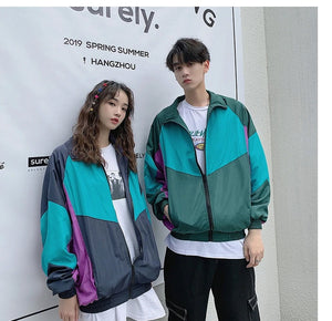 Hit Colour Casual Bomber Jacket