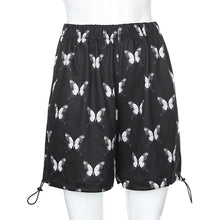 Load image into Gallery viewer, Butterfly Printed Loose Shorts Pants