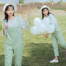 Load image into Gallery viewer, Green Color Casual Cotton Jumpsuit