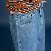 Load image into Gallery viewer, Solid Denim Jeans Pants