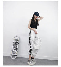 Load image into Gallery viewer, Side Camouflage Pattern Jogger Pants