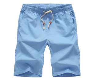 Bermuda Beach Cotton Men's Casual Shorts