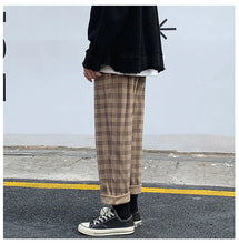 Load image into Gallery viewer, Casual Plaid Corduroy Pants