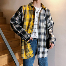 Load image into Gallery viewer, 3 Plaid Colors Long Sleeve Casual Shirt
