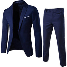 Load image into Gallery viewer, 1 Set of Long Sleeve Men's Suit