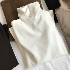 Long Sleeve Turtleneck Style Shirt