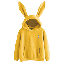 Load image into Gallery viewer,  Women Hoodies Kawaii Rabbit Ears