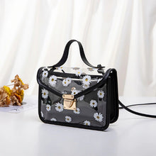 Load image into Gallery viewer, [Women] Women Transparent Daisy Pattern Shoulder Bag