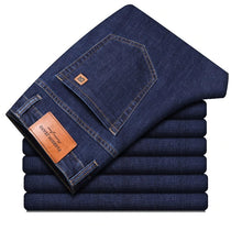 Load image into Gallery viewer, Slim Elastic Jeans Men's Classic Denim Pants