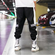 Load image into Gallery viewer, Korean Style Streetwear Reflective Joggers Pants