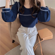 Load image into Gallery viewer, Trendy Puff Sleeve Elegant Shirt