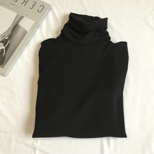Load image into Gallery viewer, Long Sleeve Turtleneck Style Shirt